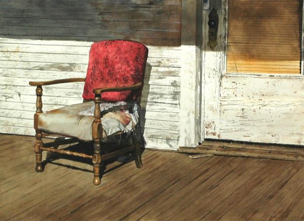Daniel Blagg, Ms. Wright's Chair, 2012