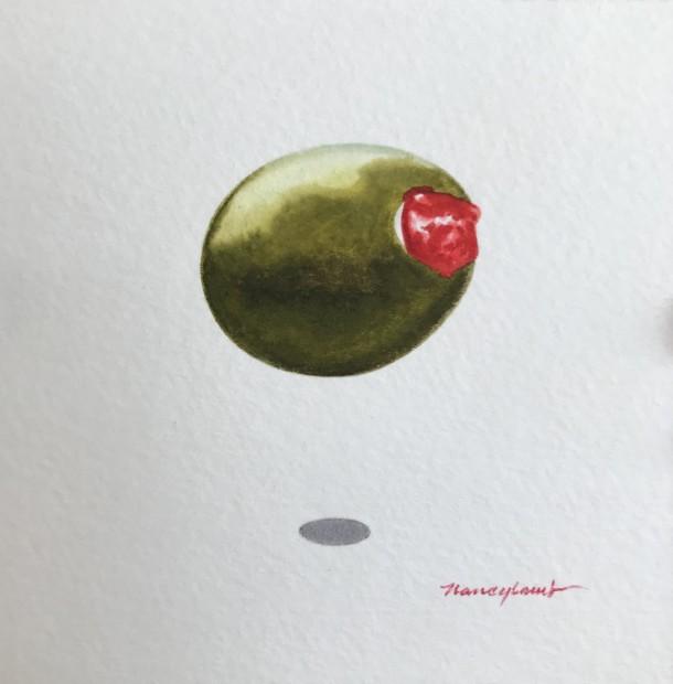 Nancy Lamb, Green Olive, 2020