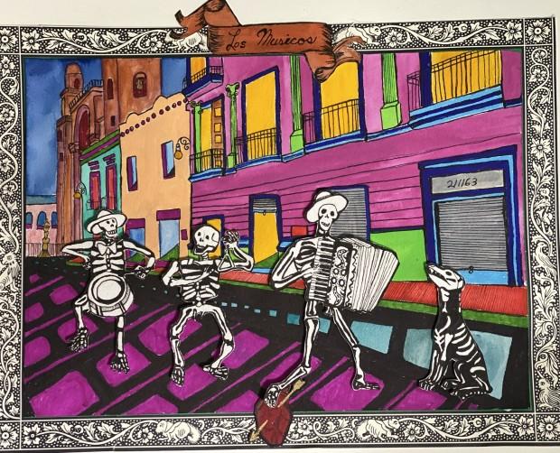 Walker Monica, Los musicos, 2030