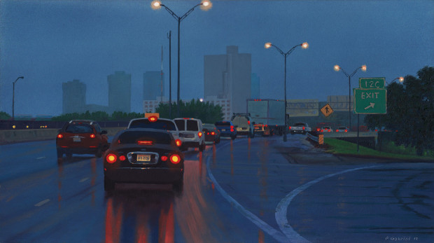 Pat Gabriel, West Into Town, 2019
