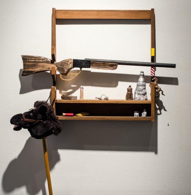Zach Morriss, Gun Rack, 2018