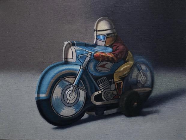 John Hartley, Tin Racer