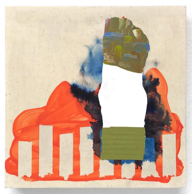 David Willburn, Artificial Structure, Artificial Landscape (0918), 2017