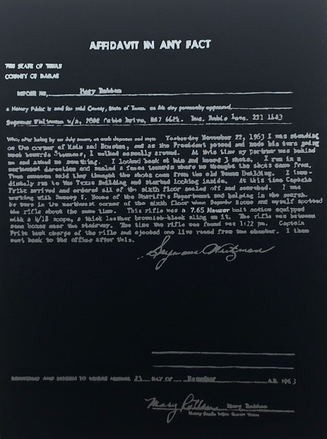 Leslie Lanzotti, Affidavit in Any Form