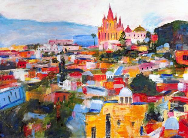 Silky Hart, Colors of San Miguel de Allende, 2018
