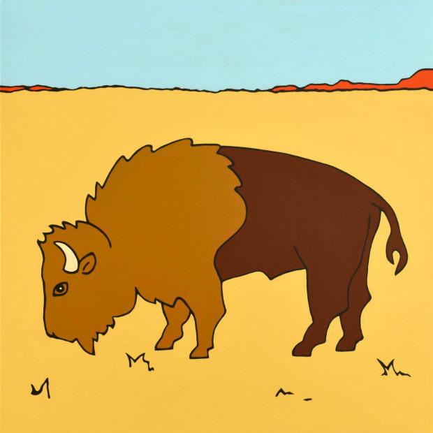 Cara Jackson, Bison, 2020