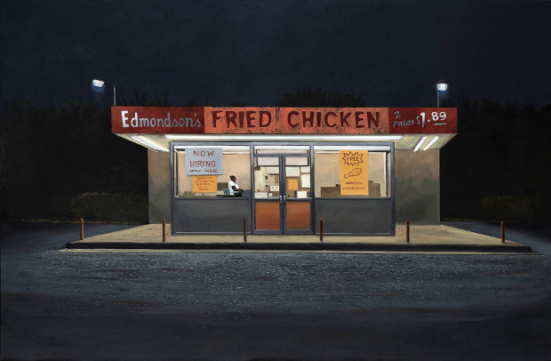 Daniel Blagg, Fried Chicken, 2016
