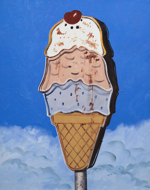Daniel Blagg, I Scream for Ice Cream, 2017