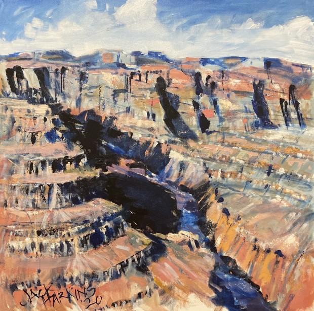 Jack Harkins, Canyon Colors, 2020