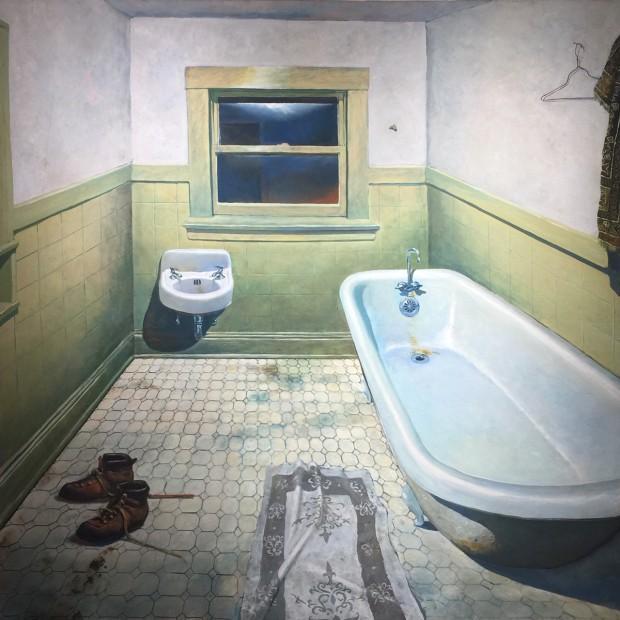 Daniel Blagg, Bathroom, 1974-1975