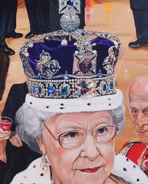 Nancy Lamb, Being Queenie