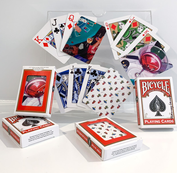 The Nancy Lamb Shop, Nancy Lamb Bicycle Playing Cards