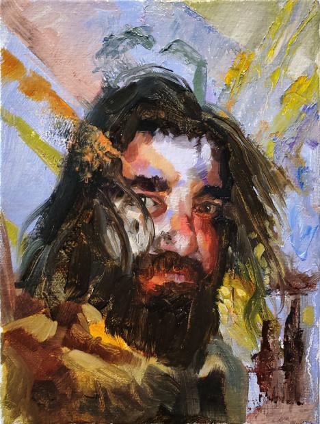 Leeahd Goldberg, self portrait 1, 2020