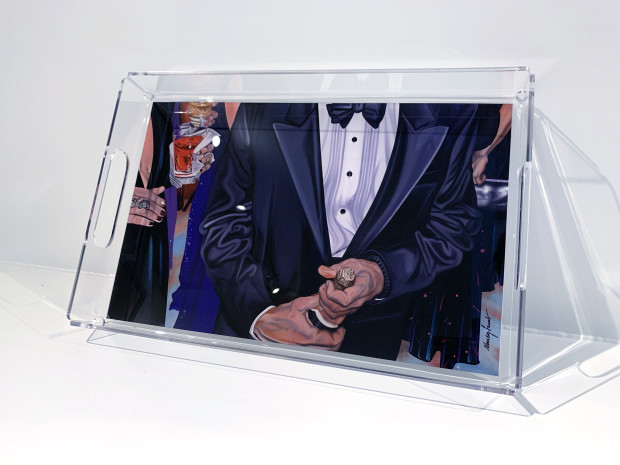 The Nancy Lamb Shop, Large Acrylic Tray | Ball Bubbly