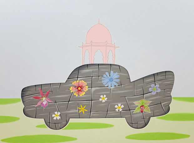Peter Harrington, Mughal Vehicle