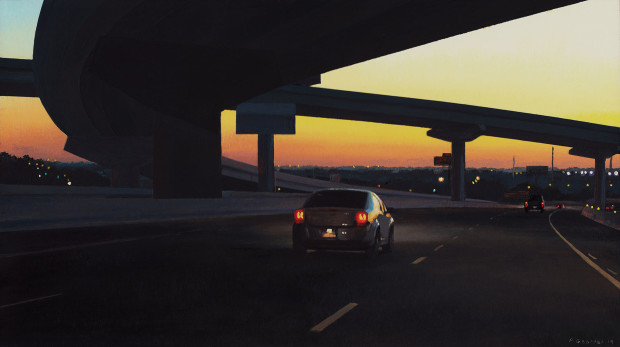 Pat Gabriel, Under an Overpass, 2019