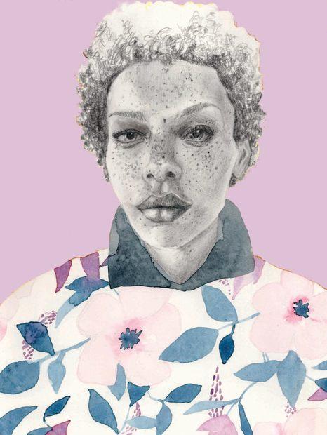 Polly Jones, Floral Woman, 2020