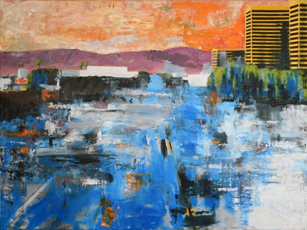 Daniel Brents, Cityscape 4 - LA, 2020