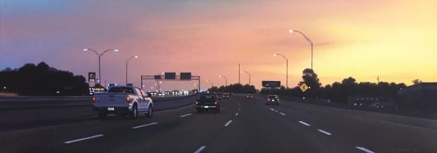 Pat Gabriel, Texas Hignway I-30 East Bound, 2015