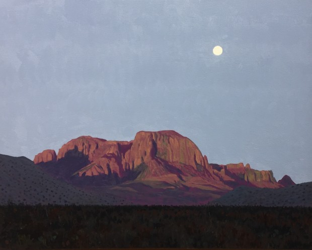 Dennis Blagg, Morning Moon, 2018