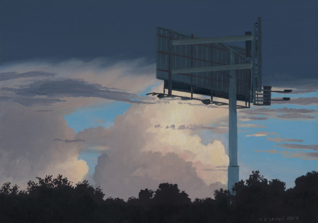 Pat Gabriel, Sky and Billboard, 2017