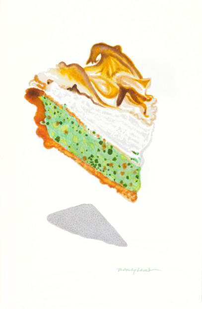 Nancy Lamb, Lime Ambrosia Slice, 2020