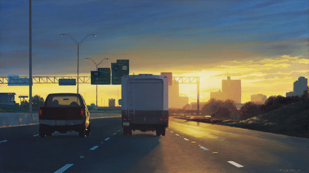 Pat Gabriel, East Into Town, 2019