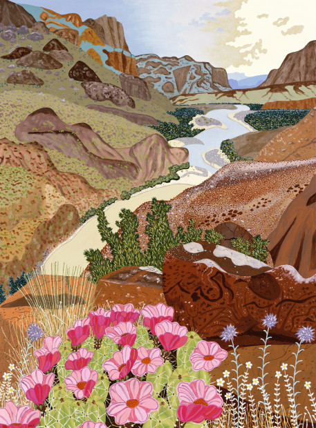Cindi Holt, Along the Rio Grande