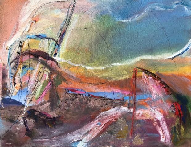 Winter Rusiloski, Desert Sails in Terlingua, 2020