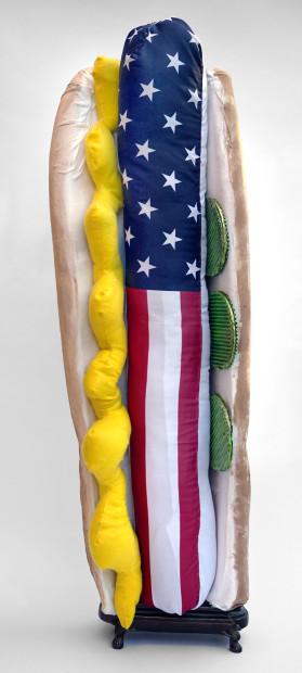 Diane Gelman, Four Foot Long All American Hot Dog, 2020