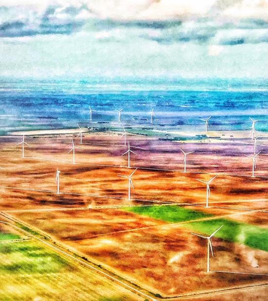 Jim Rode, Windmills: Edge of the Sea, 2018