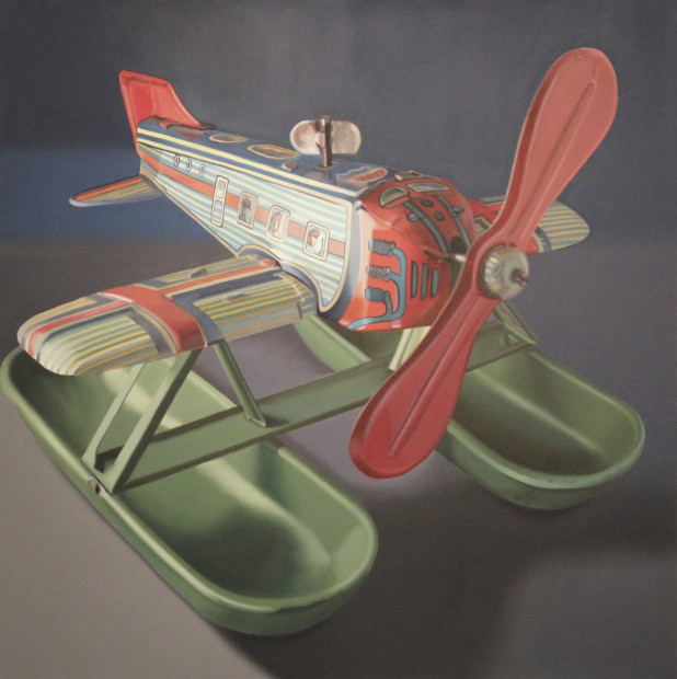 John Hartley, Flying Tin Tub, 2013