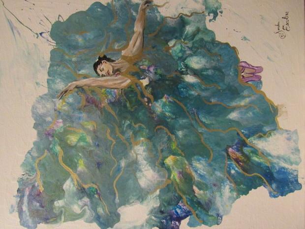 Sondra Escobar, Dancer #2, 2020
