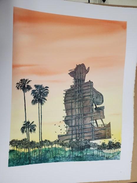 Doug Blagg, Sunset Strip 77, 2020