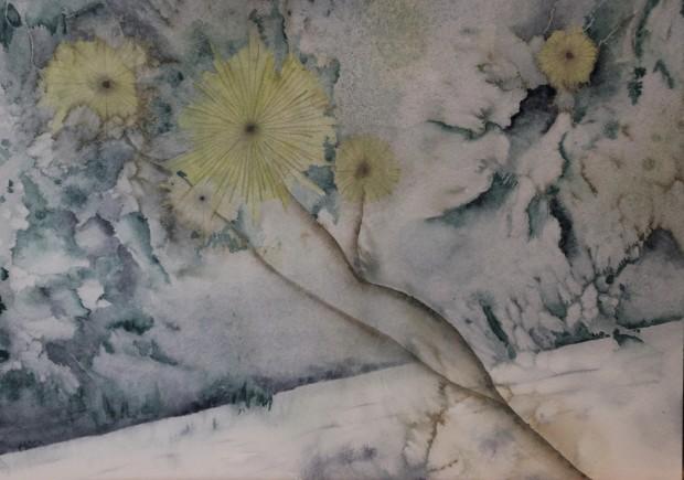 Jon Mock, Abstract Dandelions, 2020