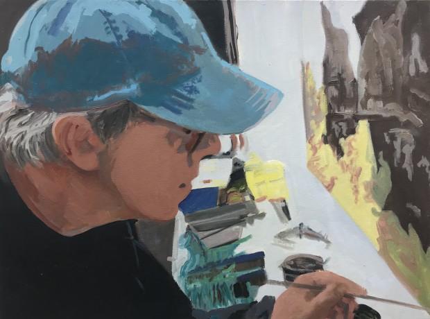 Leslie Lanzotti, Desert Painter, 2013