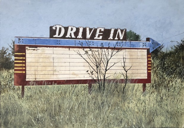 Daniel Blagg, Drive In, 2020