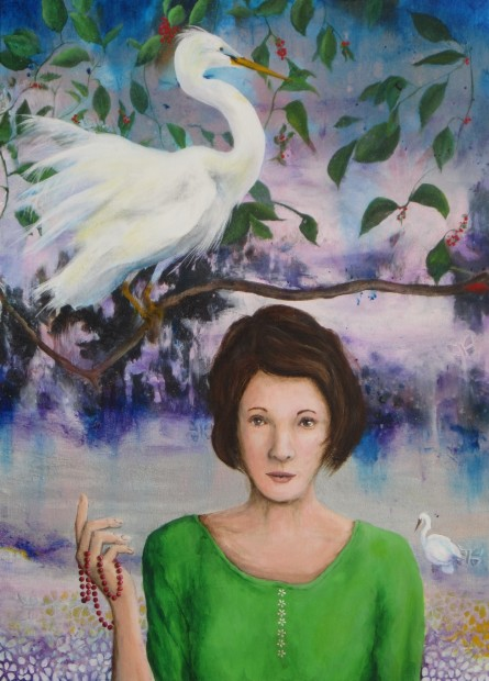 Clark Nunn, Egret, 2020