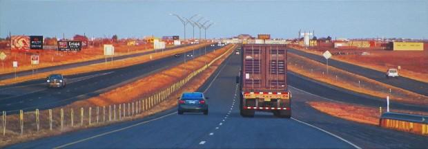Pat Gabriel, Texas Highway I-40E, 2015