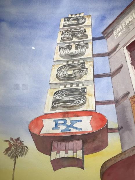 Doug Blagg, Echo Park #2, 2020