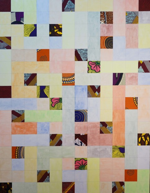 Jimi Kabela, African & American quilt, 2020
