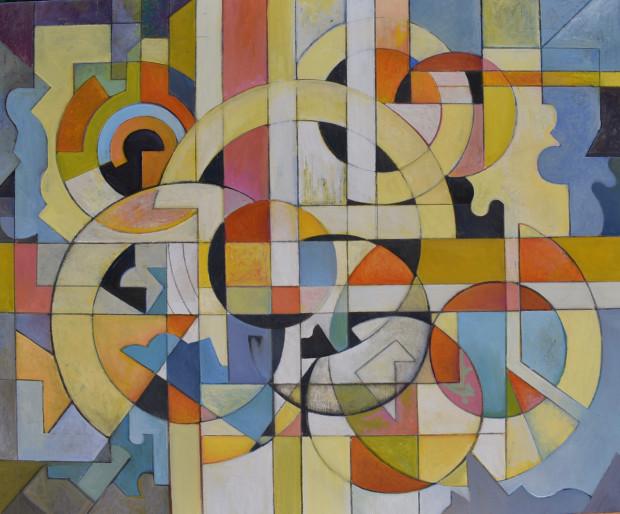 David Gibson, Miro Stella Mondrian, 2020