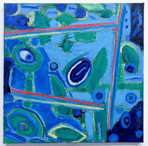 Larry Graeber, Blue Eye, 2020