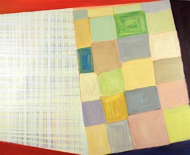 Cameron Sands, Color Squares And Fold No. 2, 2019