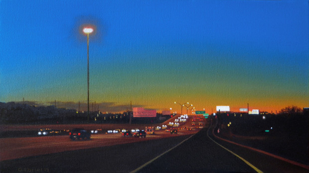 Pat Gabriel, Driving in Fort Worth 16, 2013