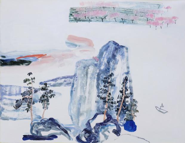 Dan Jian, The Peach Blossom Spring, 2020