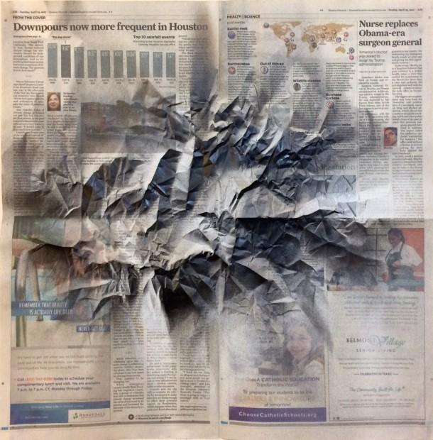 Renata Lucia, News. vs. Nature (Downpours), 2017