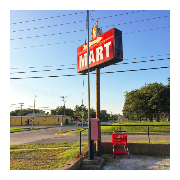 William Greiner, Mart (Sign), Fort Worth TX, 2018