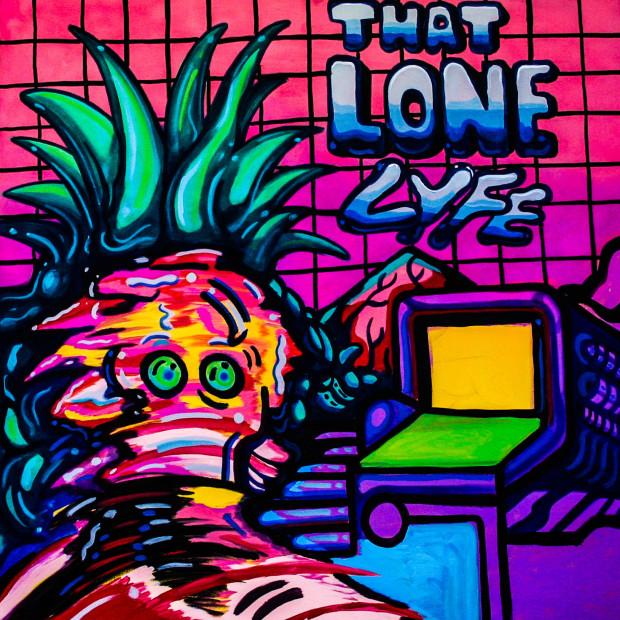 Louie Chavez, Lone lyfe, 2017