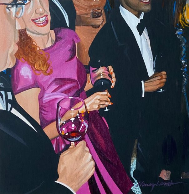 Nancy Lamb, Pinot Red, 2020
